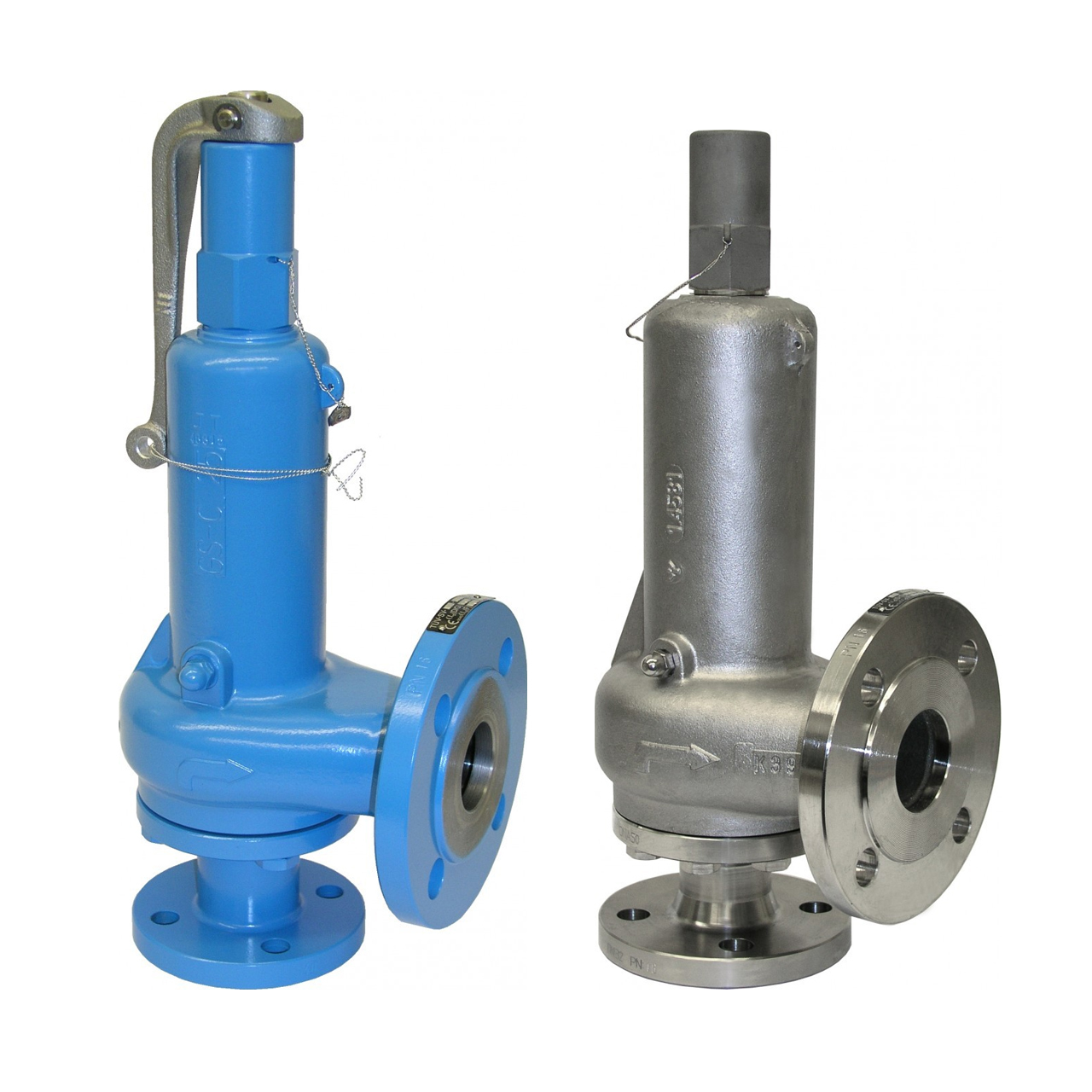The Layout of Safety Valves
