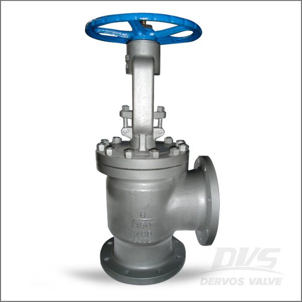 Right Angle Valve Wcb 6 Inch Class 150 Dervos