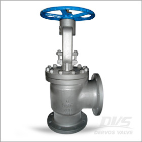 Right Angle Valve, WCB, 6 Inch, Class 150