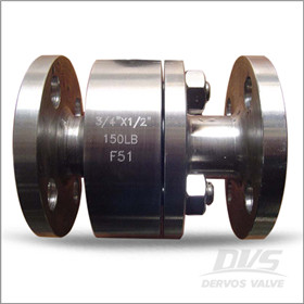 API 6D Flanged Ball Valve, F51, PN20