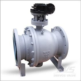 API 6D Trunnion Ball Valve, WCB, 14 X 12 Inch