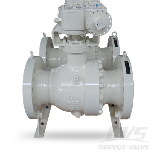 Trunnion Mounted Ball Valve, RTJ, LCC, Class 600