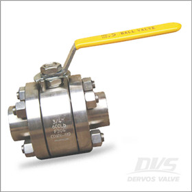 F304 Ball Valve, CL600, Lever Operation, SW