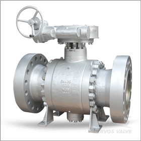 Flanged Trunnion Ball Valve, PN250, 24 X 20 Inch