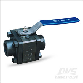 Forged Steel Ball Valve, ASTM A105, NPT, 600LB