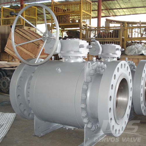 Flanged Trunnion Mounted Ball Valve, 30 Inch 300#