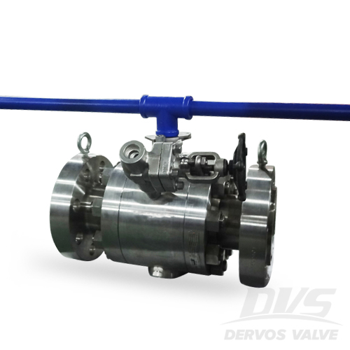 LF2 Trunnion Mounted Ball Valve, 3 Inch 1500# RTJ