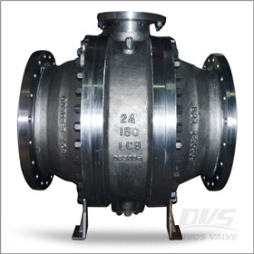 LCB Ball Valve, Low Temperature, 24 Inch, 150#