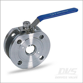 Stainless Steel F316 Ball Valve, Wafer, Lever