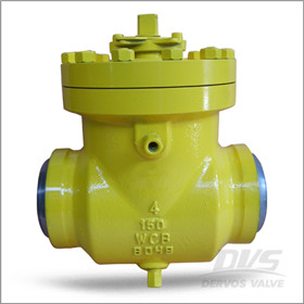 Top Entry Ball Valve, 4 Inch, WCB, BW