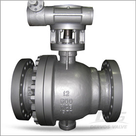 Trunnion Ball Valve, WCB, 12 Inch, 600#