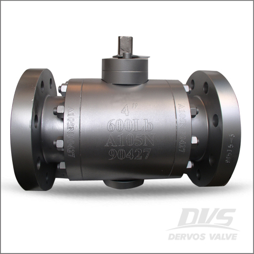 Trunnion Mounted Ball Valve, 4 Inch, 600#, RF