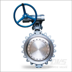 Gearbox Operated Butterfly Valve, Lug Ends, 16 Inch