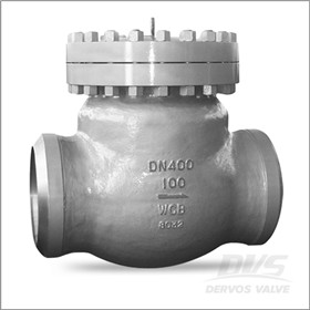 Butt Welded Swing Check Valve, 16 Inch, 600LB