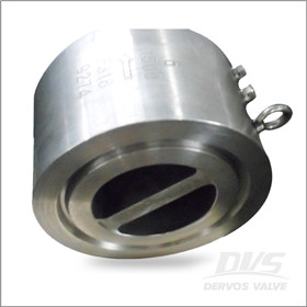 Dual Plate Check Valve, F316, 6 Inch, CL1500