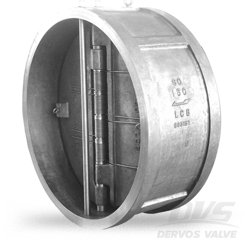 Dual Plate Wafer Check Valve, 60 Inch, CL150, LCB