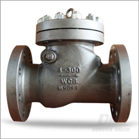 External Pin Check Valve, RF, API 6D, 4 Inch