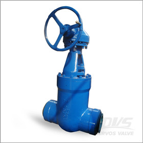 Butt Welded Gate Valve, PSB, 12 Inch, 2500 LB