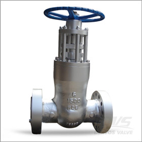 Cast Steel Gate Valve, WCB, 6 Inch, CL1500, RF