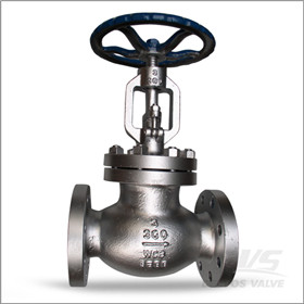 BS 1873 Flanged Globe Valve, WCB, 3 Inch