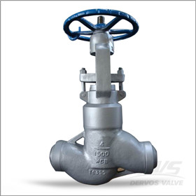 Threaded Bonnet Globe Valve, PSB, 4 Inch, WCB