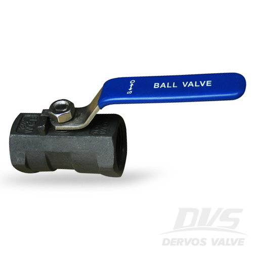 1PC Ball Valve, 0.75 Inch, 1000PSI, FNPT, WCB