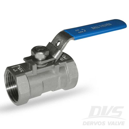 1PC Ball Valve, 1 Inch, 1000WOG, NPT, 316