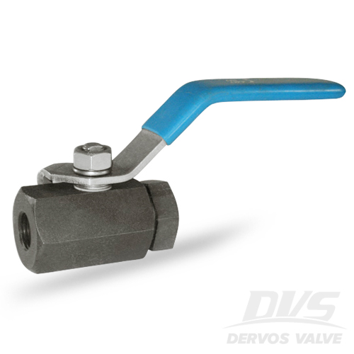 1PC Ball Valve, 1/2 Inch, 2000 PSI, FNPT, A105N