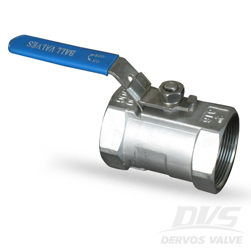 1PC Ball Valve, 2 Inch, 1000WOG, NPT, 316