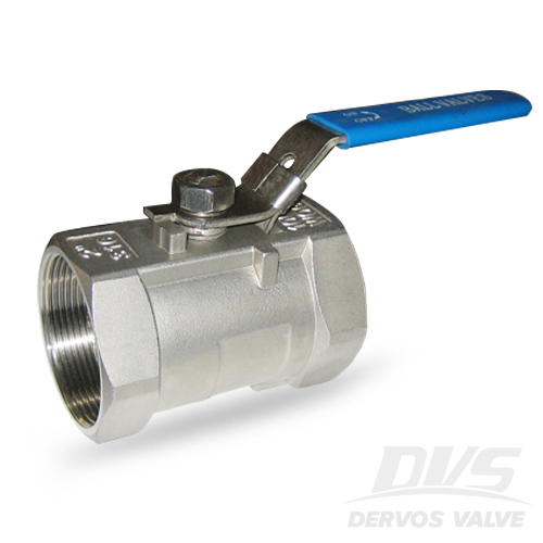 1PC Ball Valve, DN50, 1000psi, FNPT, 316
