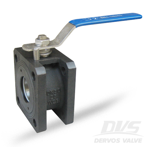 1PC Ball Valve Short Pattern, DN50, PN20, Flanged, WCB