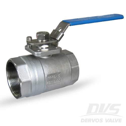 1PC RB Ball Valve, 2 Inch, 2000psi, FNPT, CF8M