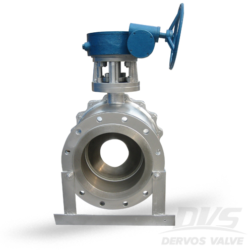 2PC Ball Valve with Gearbox, 8 Inch, CL150, RF, WCB