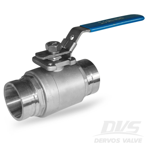 2PCS Ball Valve, 1 Inch, 1000PSI, SW, 304