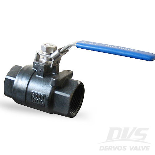 2PCS Ball Valve, 1 Inch, 2000psi, FNPT, WCB
