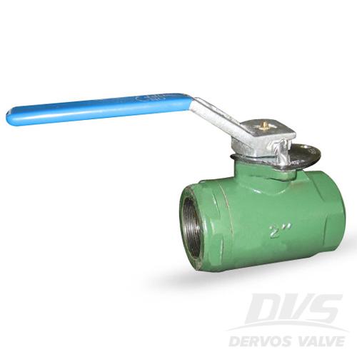 2PCS Ball Valve, 2 Inch, 1000PSI, NPT, WCB