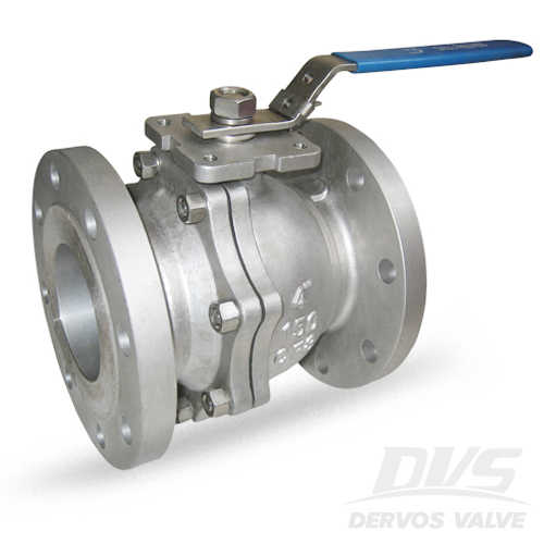 2PCS Ball Valve, 4 Inch, 150 LB, JIS, Flanged, CF8