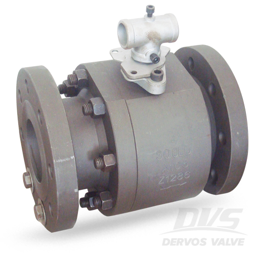 2PCS Ball Valve, 4 Inch, CL300, ASTM A105, RF