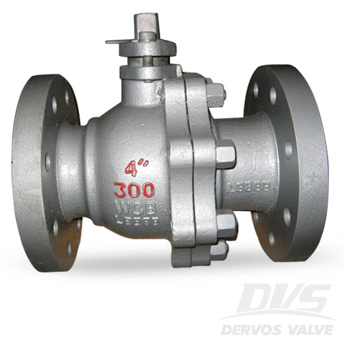 2PCS Ball Valve, 4 Inch, CL300, FF, WCB