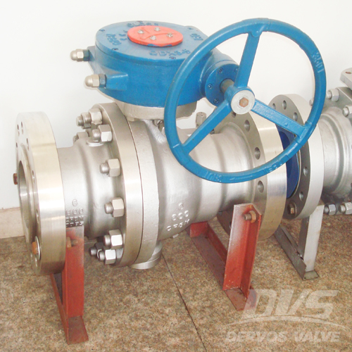 2PCS Ball Valve, 6 Inch, CL600, RF, CF3M