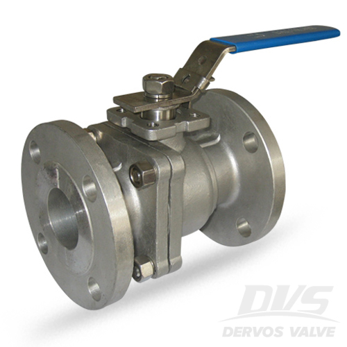 2PCS Ball Valve, DN100, CL300, RF, CF8