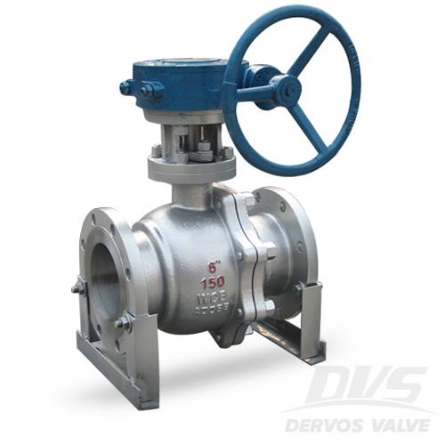 2PCS Ball Valve, DN100, RF, LCC