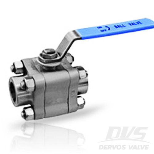 3PCS High Pressure Ball Valve, DN15, 1500#, SW, A105