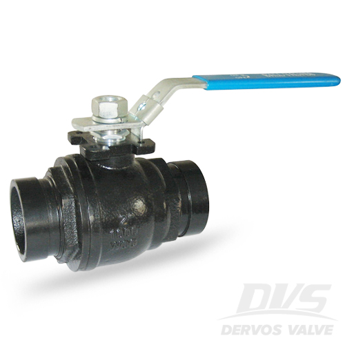 Carbon Steel 2 PC Ball Valve