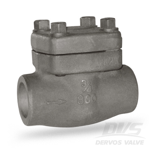 Forged Swing Check Valve, A105N, 3/4IN, 800#, SW