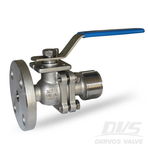 JIS Ball Valve, 15A, 16K, RF and NPT, SCS13