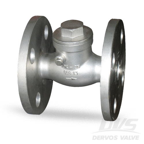 JIS Swing Check Valve, DN25, 10K, Flanged, SCS13