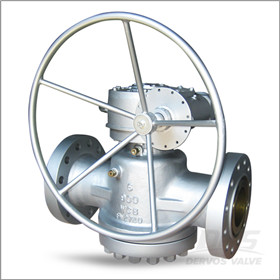 Inverted Type Plug Valve, 6 Inch, CL900