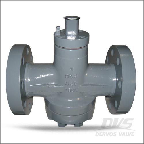 Rf plug valve inverted type wcb cl dervos