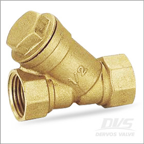 Brass Y Strainer, Threaded End, ASME B16.34